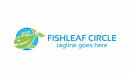 fish leaf circle