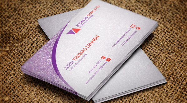 Creative Ultra Modern Business Card