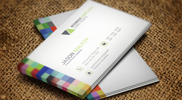 Shade Corporate Business Card