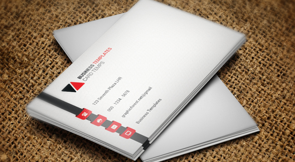 Single Business Card