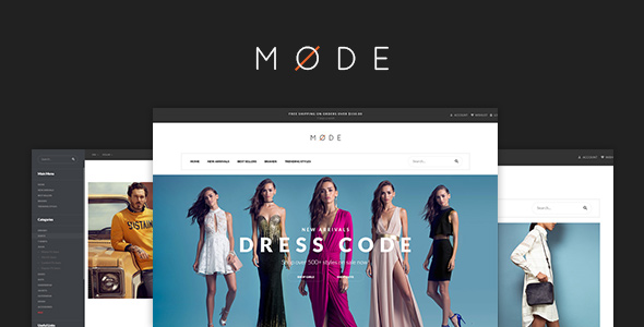 Pav Mode - Modern Fashion Opencart Theme