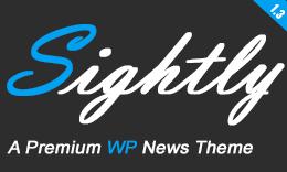 Sightly - News, Magazine and Blog WordPress Theme