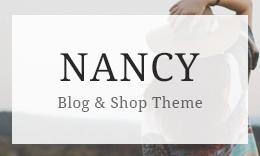 NANCY WordPress Blog for Fashion, Food and Lifestyle