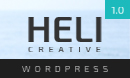Heli - Creative One Page WordPress Theme