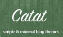 Catat - A WordPress Blog Theme