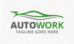 Auto Work - Automotive Logo