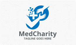 Medical Charity - Helping Hand Logo