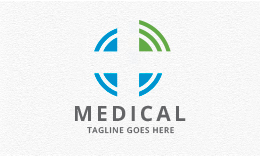 Medical Cross Signal Logo