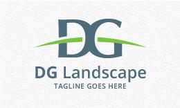 DG Landscaping - Letter Logo