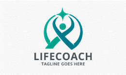Life Coach - People Logo