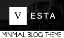 Vesta - A Minimal WordPress Blog Theme