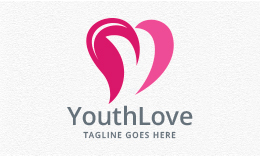 Youth Love - letter Y Logo