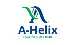 A - Helix Letter A Logo