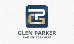 Glen Parker - Letters GP/PG Logo