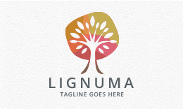 Lignuma - Tree Logo