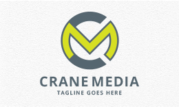 Crane Media - Letters CM/MC Logo