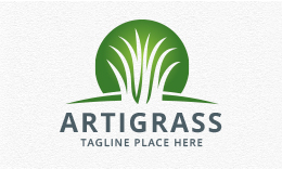 Artificial Grass Logo