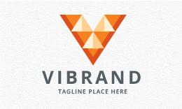 Vibrand - Letter V Logo