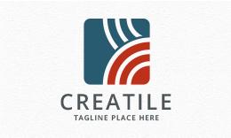 Creatile - Abstract Logo