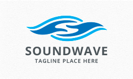 Sound Wave - Helping Hand Logo