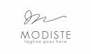MODISTE Letter M logo
