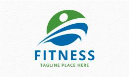Fitness - People Logo