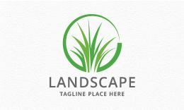 Landscaping / Lawn / Grass Logo