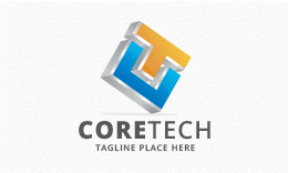 Coretech - Letters CT/TC Logo