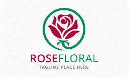 Rose Floral Logo