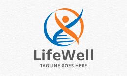Life Well - People Logo