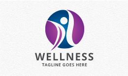 Wellness - People Logo