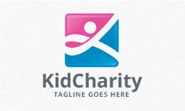 Kid Charity - People Logo