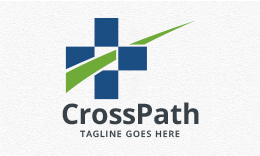 Cross Path - Medical Logo