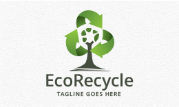 Eco Recycles - Tree Logo
