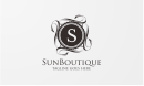 Sun Boutique - S Crests Logo
