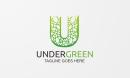 Under Green - U Letter Logo