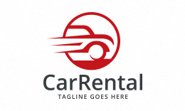 Car Rental - Automotive Logo