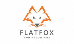 Flat Fox Logo