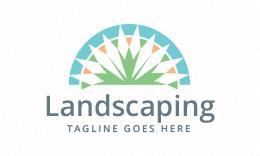 Landscaping - Gardening - Lawn Care Logo