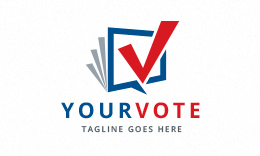 Your Vote - Checkmark Logo