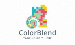 Color Blend Logo