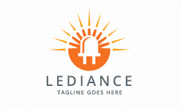 Lediance - Lighting Logo
