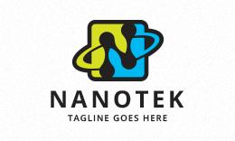 Nanotex - Letter N Logo