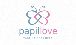 Papillove - Butterfly Love - Dating Logo