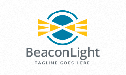 Beacon Light - Lighthouse Logo