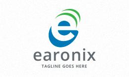 Earonix - Letter E Logo