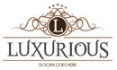 Luxurious - Crest Logo