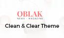 Oblak -  Clean Blog News Wordpress Theme
