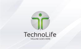 Techno Life - Letter T Logo