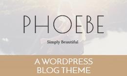 Phoebe WordPress Blog Theme